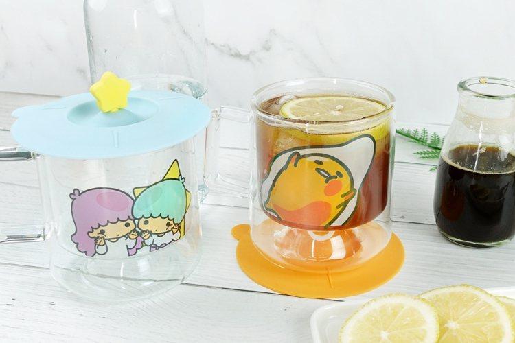 7-ELEVEN將於9月27日推出4款三麗鷗雙層玻璃杯組,每款售價599元,全台...