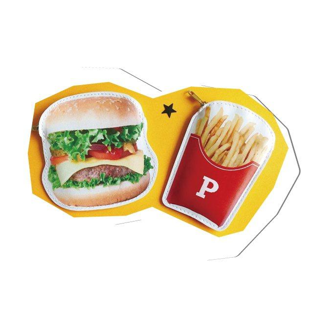 Can Do漢堡薯條小錢包,均一價49元。圖/新光三越提供