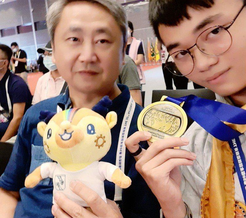 全國技能競賽青少年組,基隆武崙、正濱國中摘1金1銅。圖/基隆市政府提供