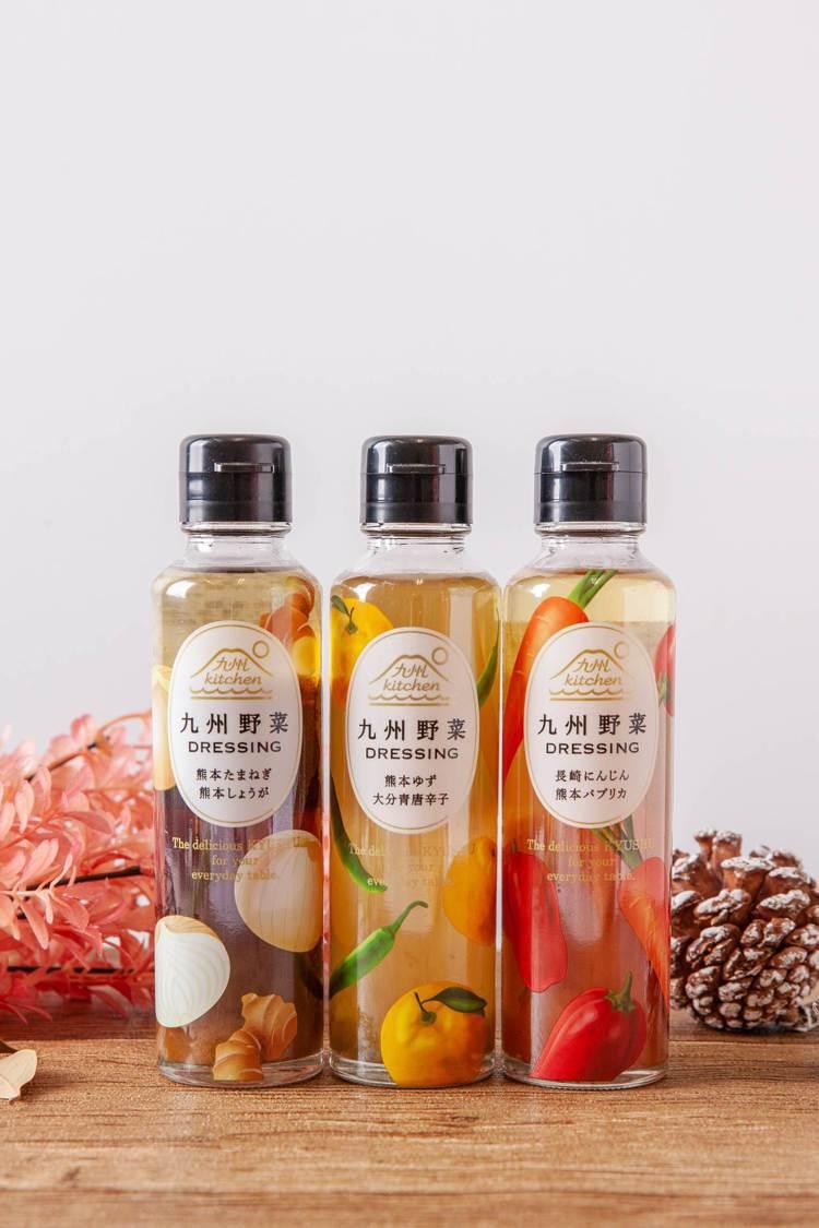 九州青辣椒柚子醬每瓶售價250元,復興店限定販售。圖/台隆手創館提供