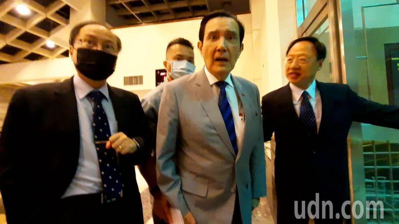 前總統馬英九說,一旦政策錯誤,恐將千萬人頭落地。記者陳玫伶/攝影