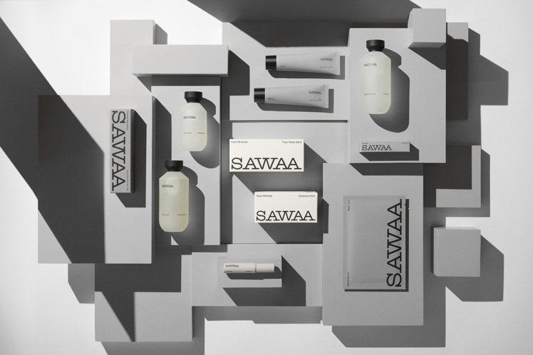 簡約時尚,更貼近自然的保養品牌SAWAA。圖/SAWAA提供