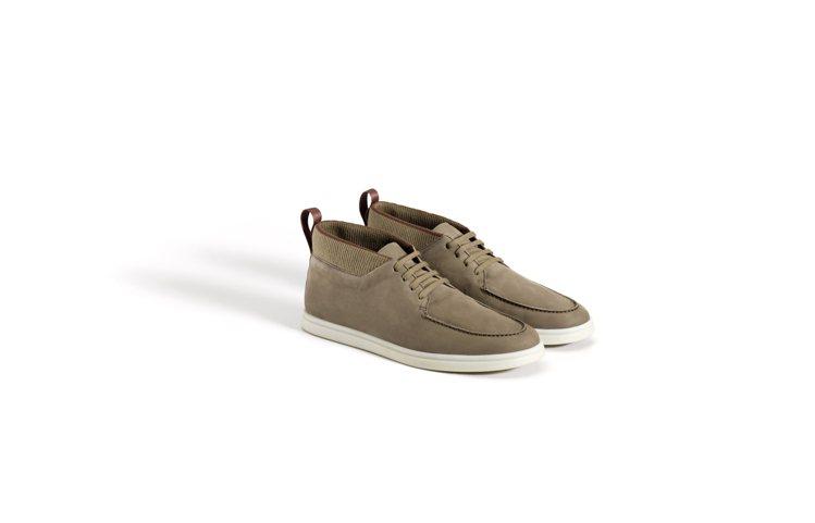 Laced Soho Walk麂皮咖啡色休閒鞋,34,900元。圖/Loro P...
