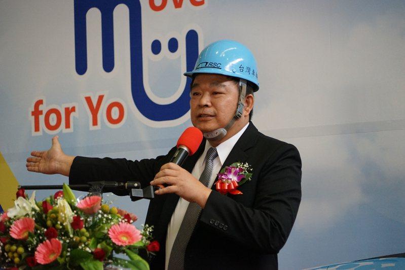台灣車輛公司董事長蔡煌瑯。本報資料照片