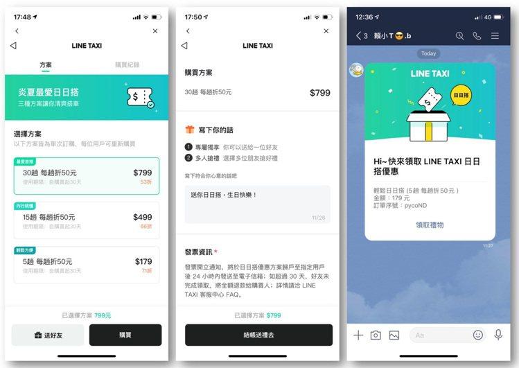 LINE TAXI會中宣布3項新功能,針對重度用戶推出的「日日搭送禮」即日起正式...