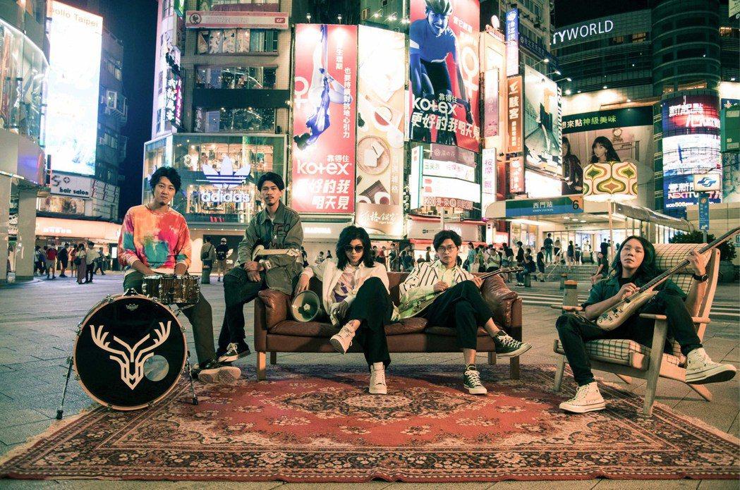 「麋先生」成員逸凡(左起)、小B、聖皓、喆安、以諾。圖/相信音樂提供
