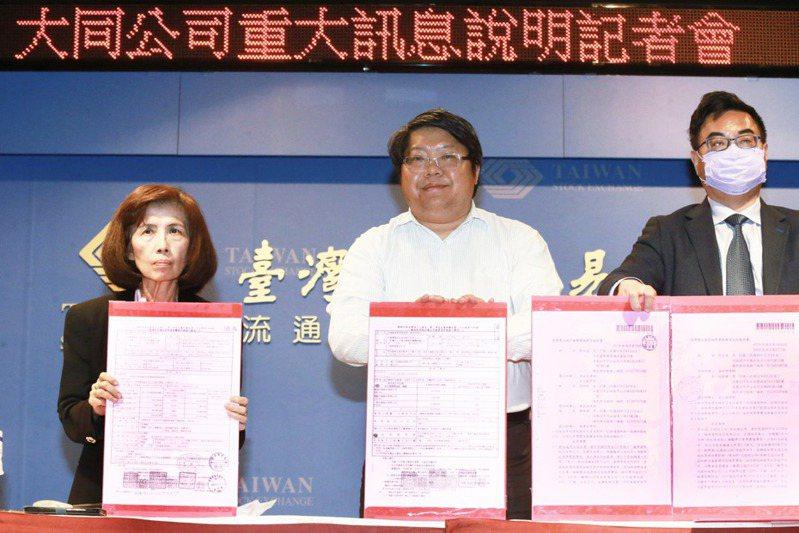 大同公司股東會鬧出軒然大波。左為董事長林郭文艷。 圖/聯合報系資料照片