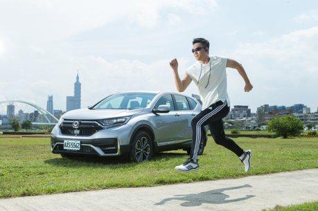 型男老爸蔣偉文體驗Honda CR-V 購車首選安全車款