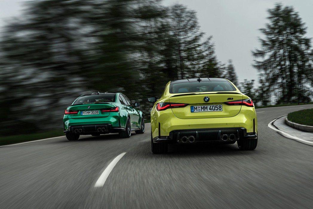 除了一般版本外,這次M3/M4 Competition也同步發表。 摘自BMW