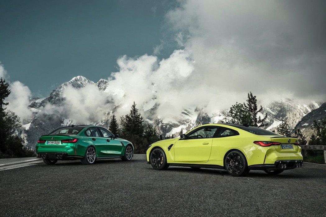 新世代BMW M3 Sedan/M4 Coupe發表。 摘自BMW