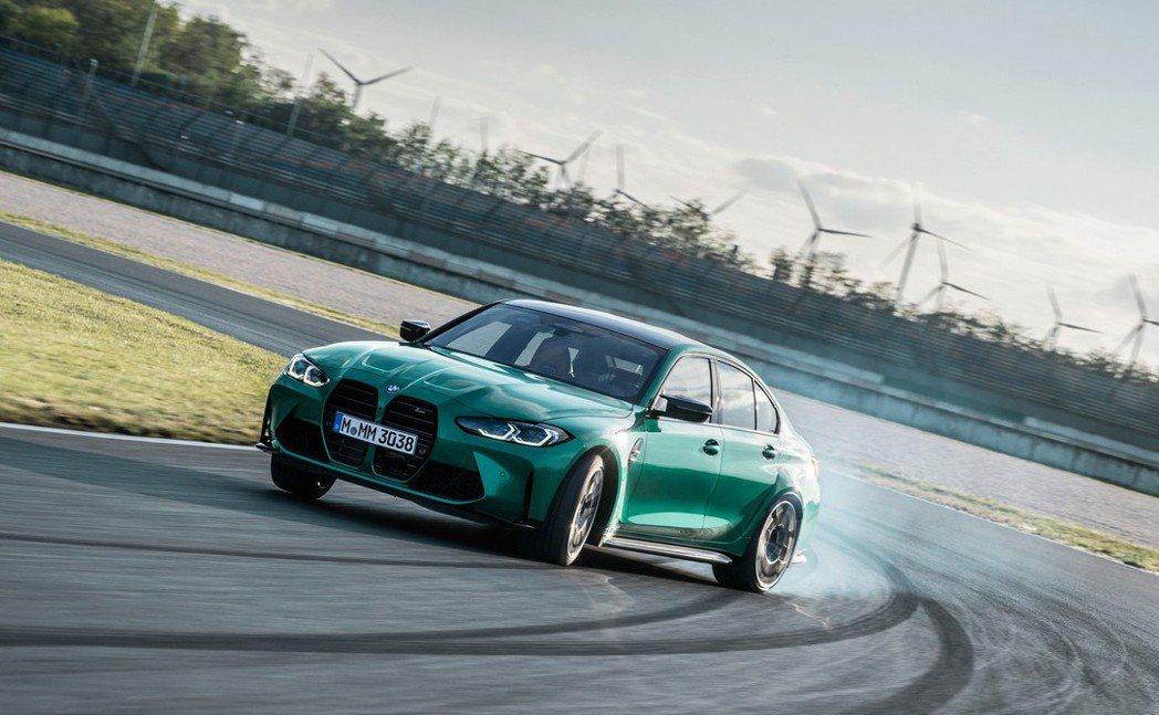 M Drift Analyser甩尾模式讓操駕有更多樂趣。 摘自BMW