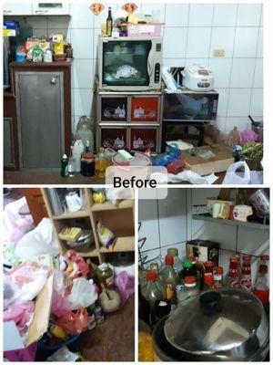 媽媽自己發現:其實很少煮,東西買一買都壞掉,留那麼多鍋子也沒用。 圖/廖心筠提供