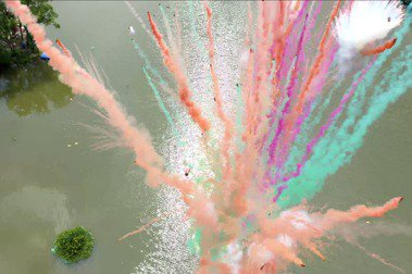 疫情之下禮讚毀滅與創造:爆破藝術家蔡國強最新計畫《悲劇的誕生》即將全球直播發表