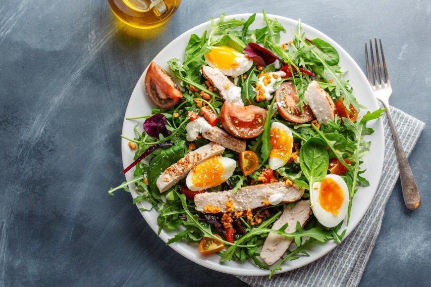 減肥時吃蛋白質,是「揮霍」人體能量的好辦法。 圖/freepik