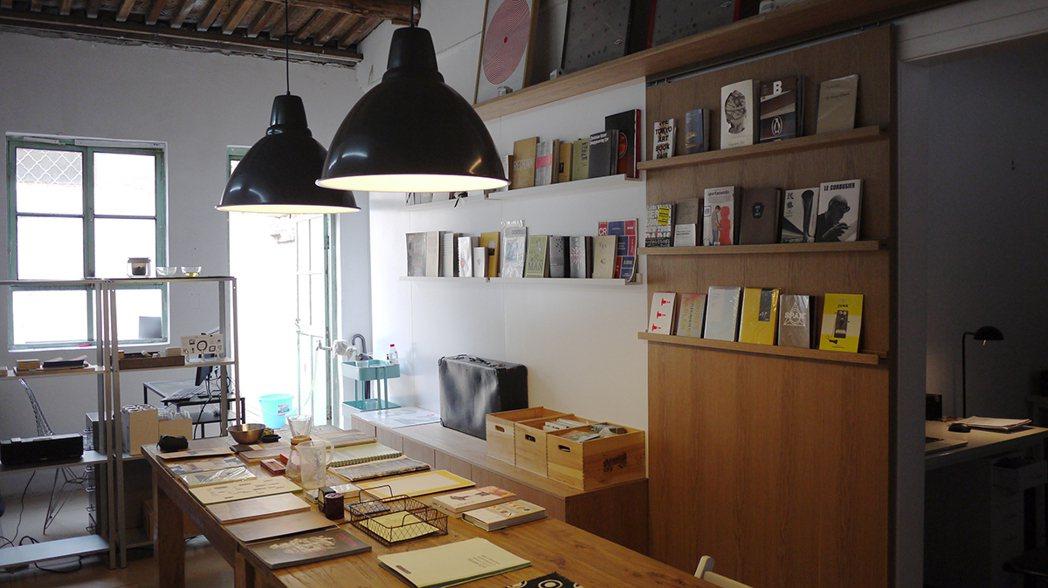 北京Book Design Shop室內一隅。  圖/李擴提供