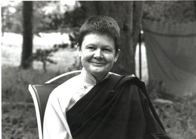 佩卓‧丘瑪是西方最受歡迎的佛教女性導師。 圖/心靈工坊提供
