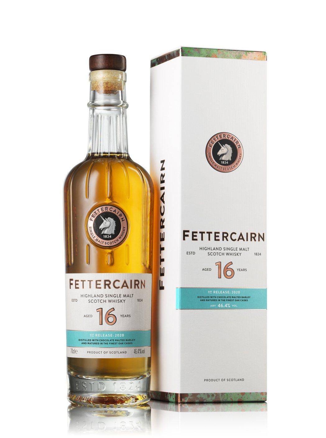 費肯16年單一麥芽蘇格蘭威士忌。業者/提供