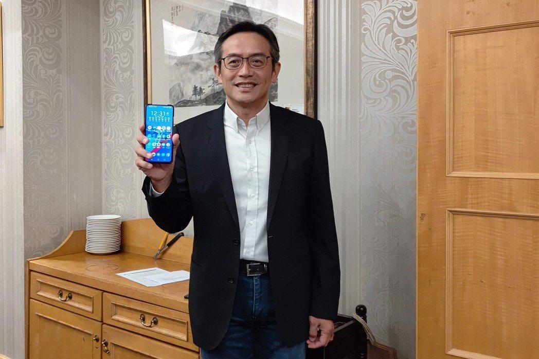 華碩全球副總裁林宗樑。 彭子豪/攝影