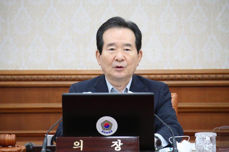 南韓總理丁世均。 歐新社