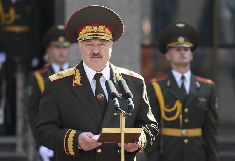 白俄羅斯通訊社今天報導,白俄總統魯卡申柯秘密舉行宣誓就職典禮。 美聯社