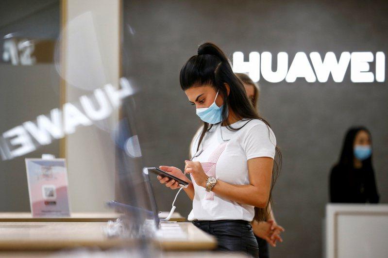 華為去年9月在柏林IFA電子消費展設攤。路透