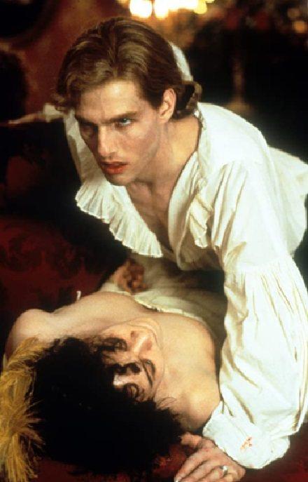 湯姆克魯斯在「夜訪吸血鬼」突破過往戲路。圖/摘自imdb