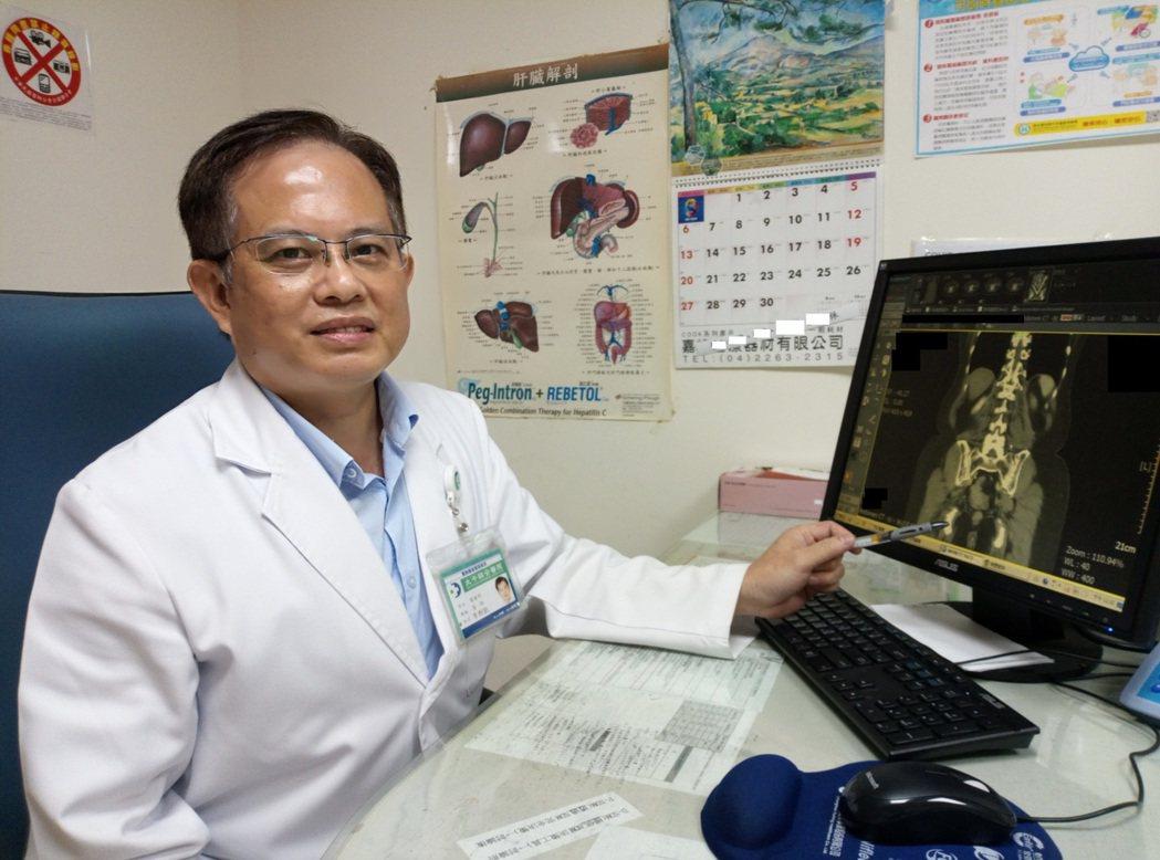 李斯凱醫師建議民眾定期做糞便潛血篩檢,若呈現陽性,務必要記得做大腸鏡檢查確認。圖...