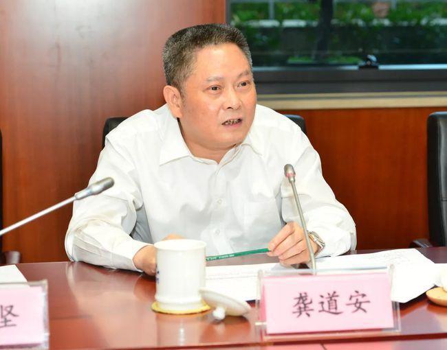 上海市前副市長、公安局前局長龔道安。(取自上海市司法局網站)