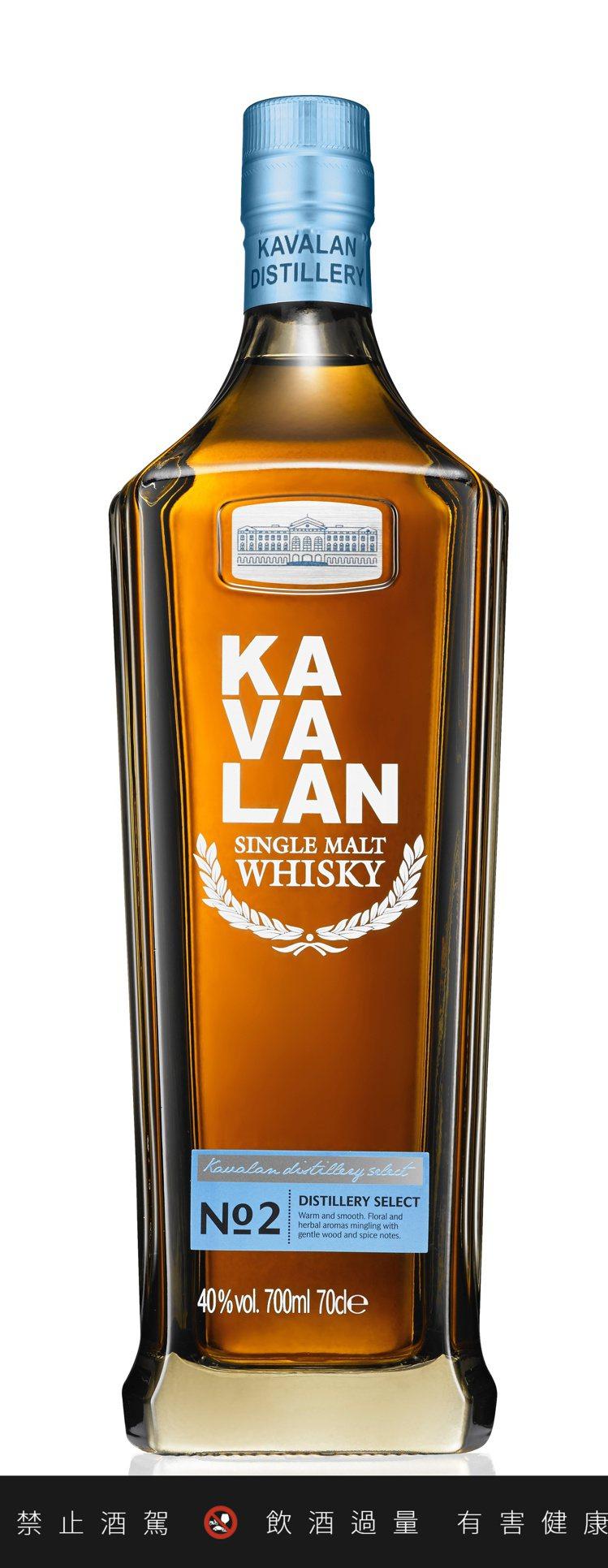 今年中新推出的「噶瑪蘭珍選單一麥芽威士忌No.2」,迷人花草揉合木質辛香,建議售...