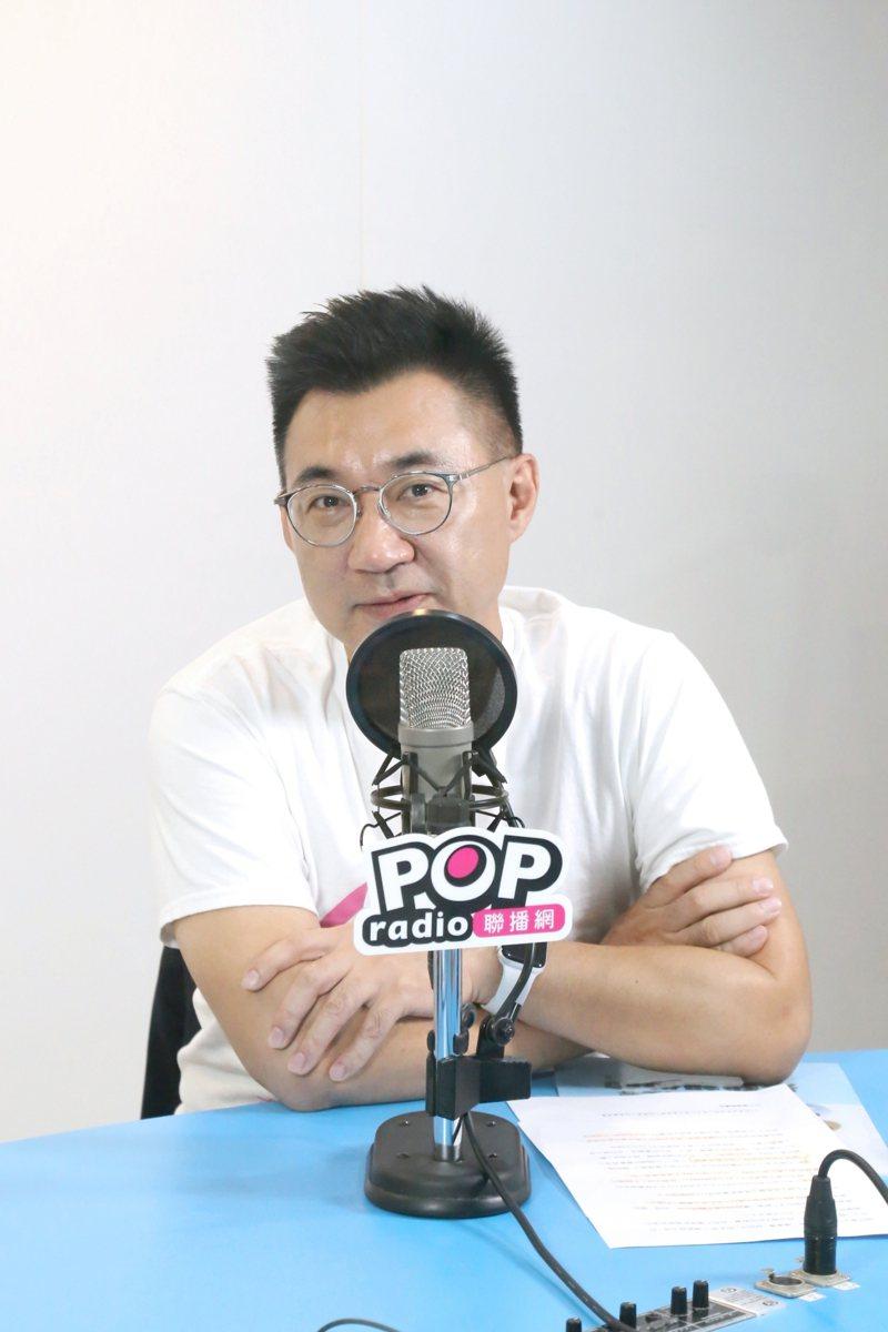 國民黨主席江啟臣。圖/POP Radio提供