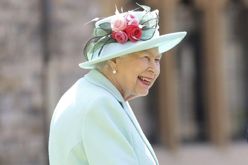 英國女王伊莉莎白二世,攝於7月。美聯