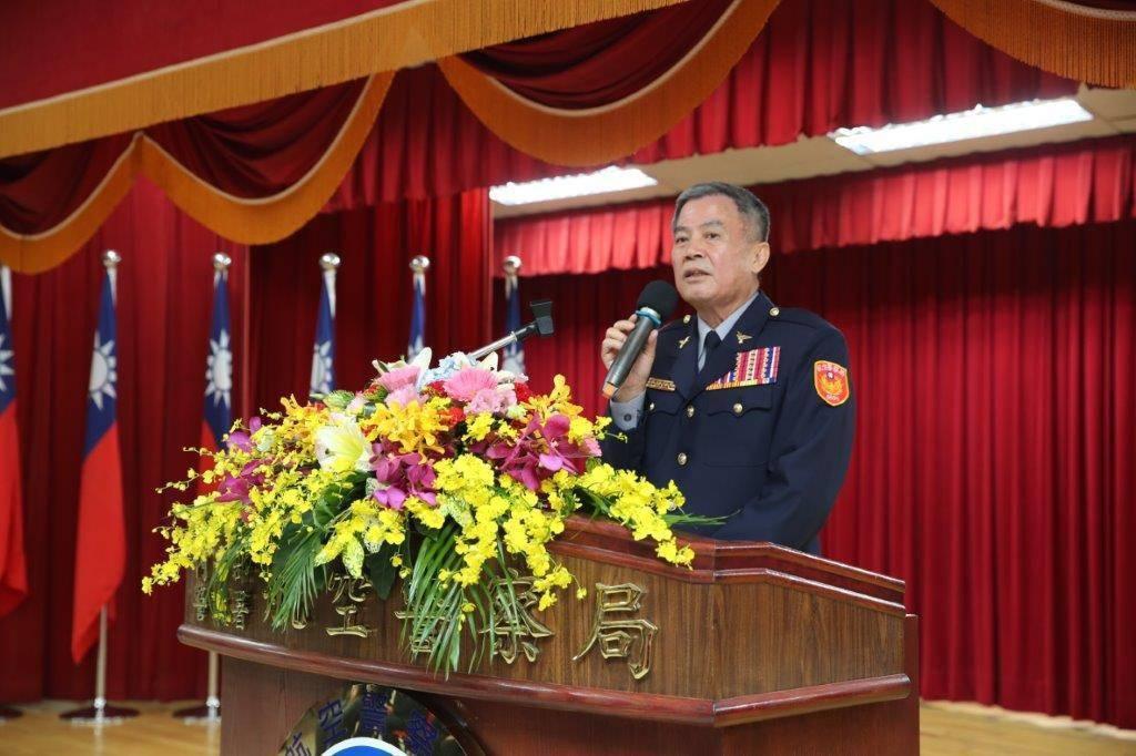 警政署發布高階警察人事,懸缺兩個月的副署長由航空警察局長黃嘉祿升任。圖/警政署提...