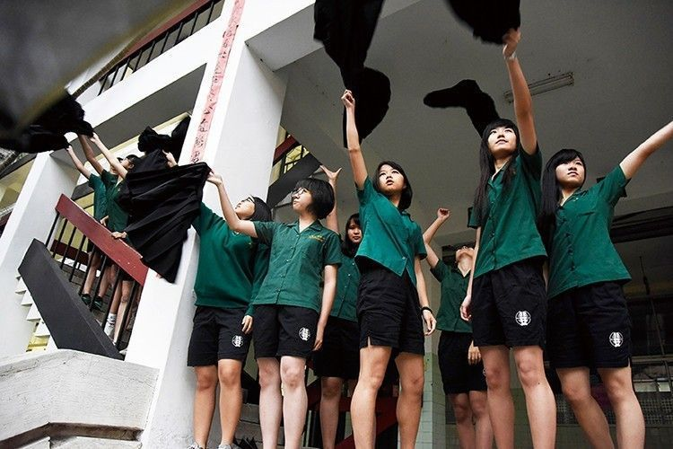 圖為北一女中學生。示意圖。圖/聯合報系資料照片