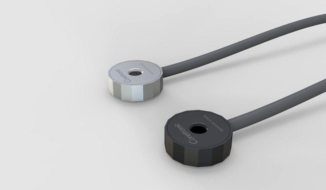 中光電智能感測首度發表Jupiter 工業震動感測器模組。圖/業者提供