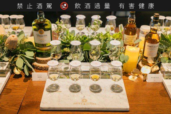 10毫升均價1,300元  帝亞吉歐極奢原酒品酩會