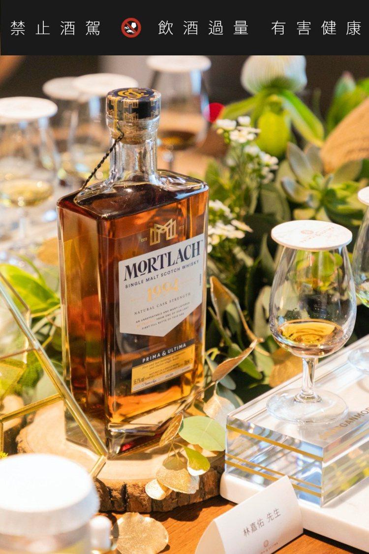 慕赫2.81 1994年單一麥芽威士忌,單瓶建議售價6萬元,全球限量389瓶。記...