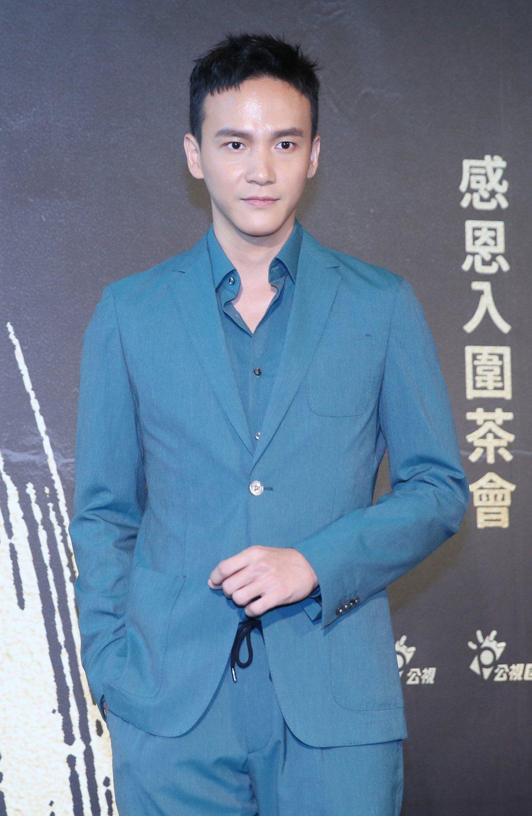 曹晏豪以「噬罪者」入圍金鐘最佳男配角獎。記者曾學仁/攝影