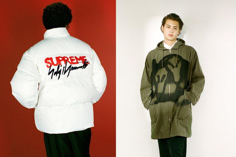 潮牌Supreme日前上市了與日本時裝大師山本耀司聯名系列,引起不少的關注與討論,開賣後即秒殺。圖/摘自Supreme官網