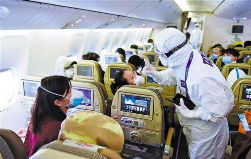 中國大陸宣布放寬限制,下周一起外國人持工作私事及團聚簽證可入境。(百度百家號)