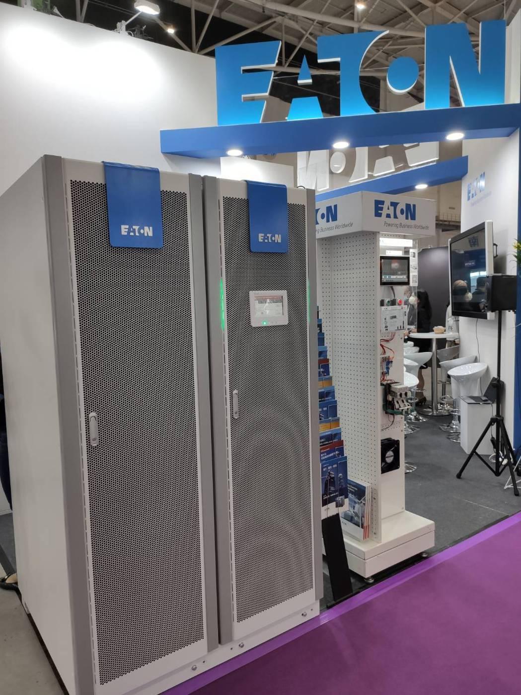 伊頓新世代模組化不斷電系統93PR 600K,高功率密度與高效率設計,協助中大型...