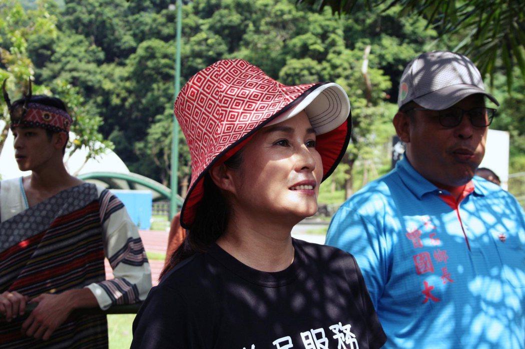 立委高金素梅到場關心支持。圖/Atayal泰雅音樂節提供