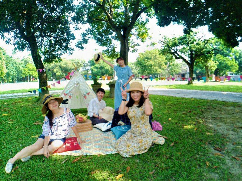 台南總爺藝文中心邀請民眾10月1日參加《總爺中秋野餐party》。圖/總爺藝文中心提供