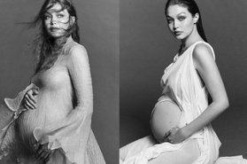 吉吉哈蒂德生了!準爸媽曬女兒小手,超模媽媽淚目:「她改變了我們的世界!」