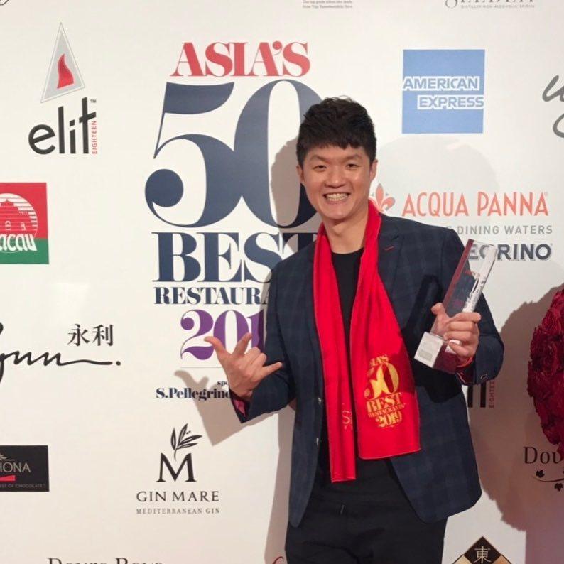 拿下米其林二星前,JL Studio已二度入選亞洲50大最佳餐廳。圖/林恬耀提供