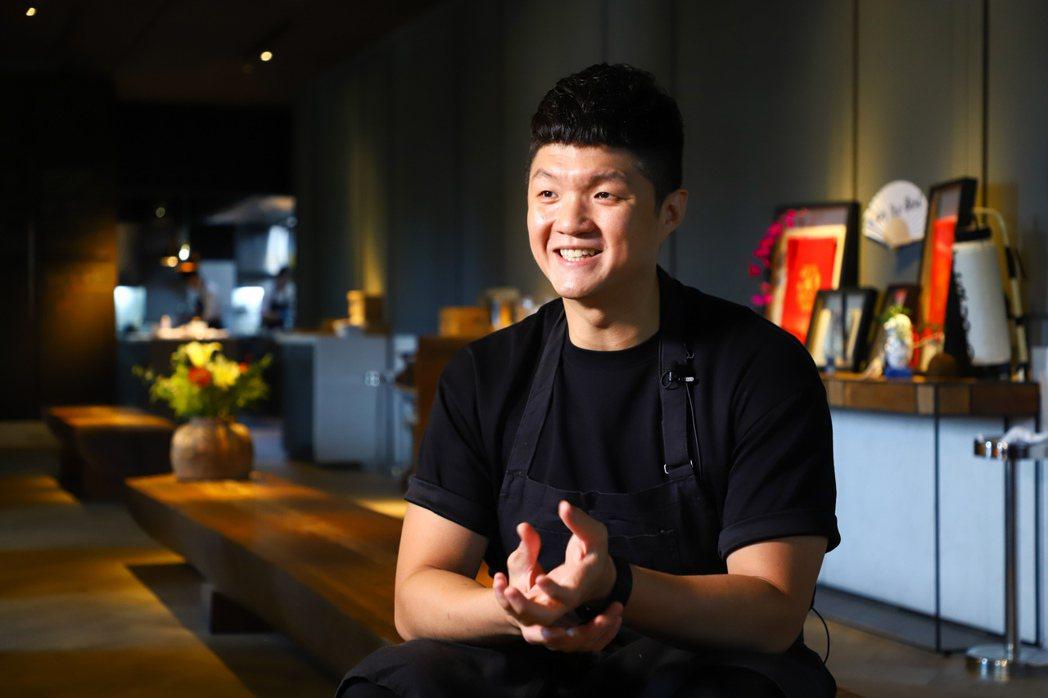 林恬耀對料理有著無限熱情與想法。記者陳立凱/攝影