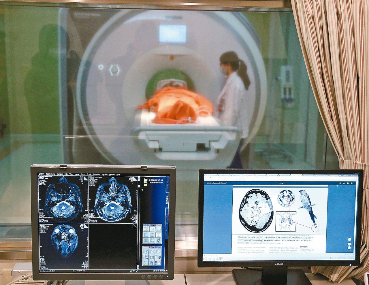 高梯度3TMRI磁振造影儀可檢查巴金森氏症,為非侵入性、無游離幅射影像檢查,無須...