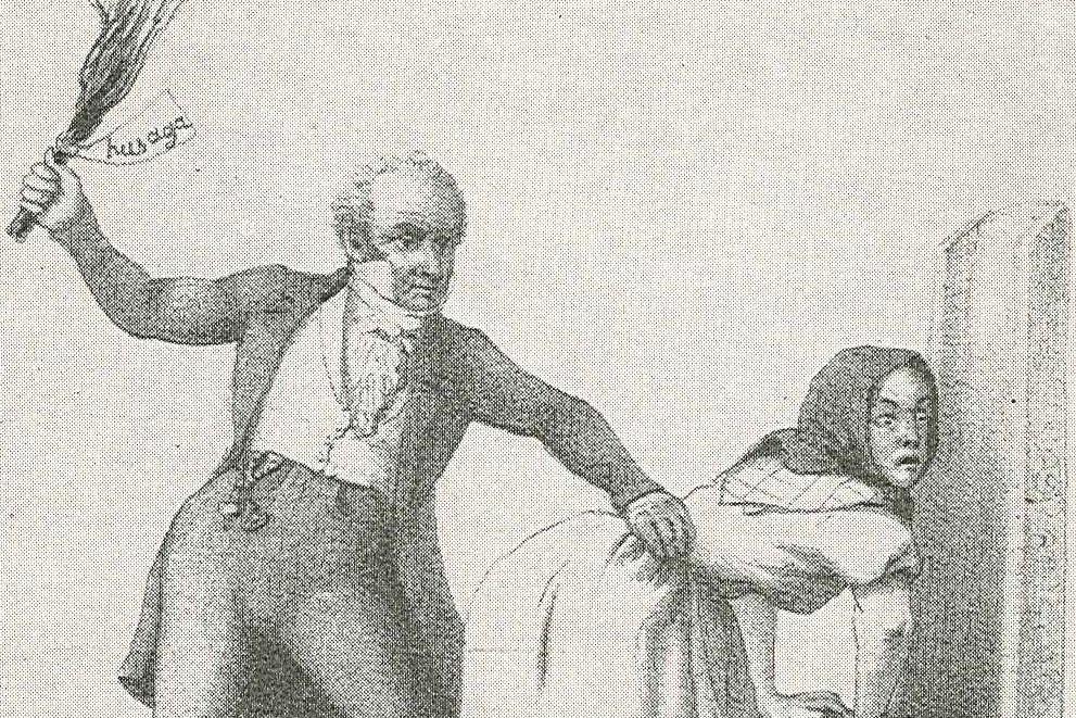 圖為瑞典19世紀的藝術家Fritz von Dardel,描繪關於「Husaga...