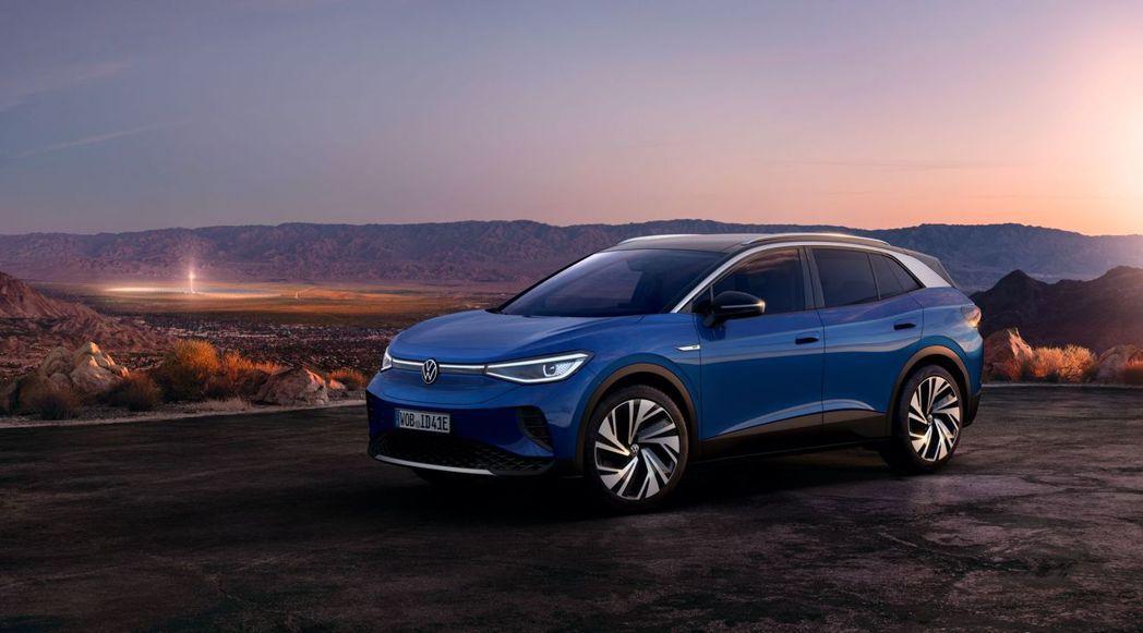 全新Volkswagen ID.4純電休旅正式登場! 摘自Volkswagen
