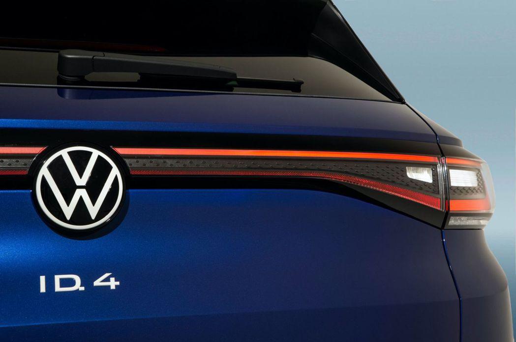全新Volkswagen ID.4純電休旅是福斯ID家族的第二款新作。 摘自Vo...