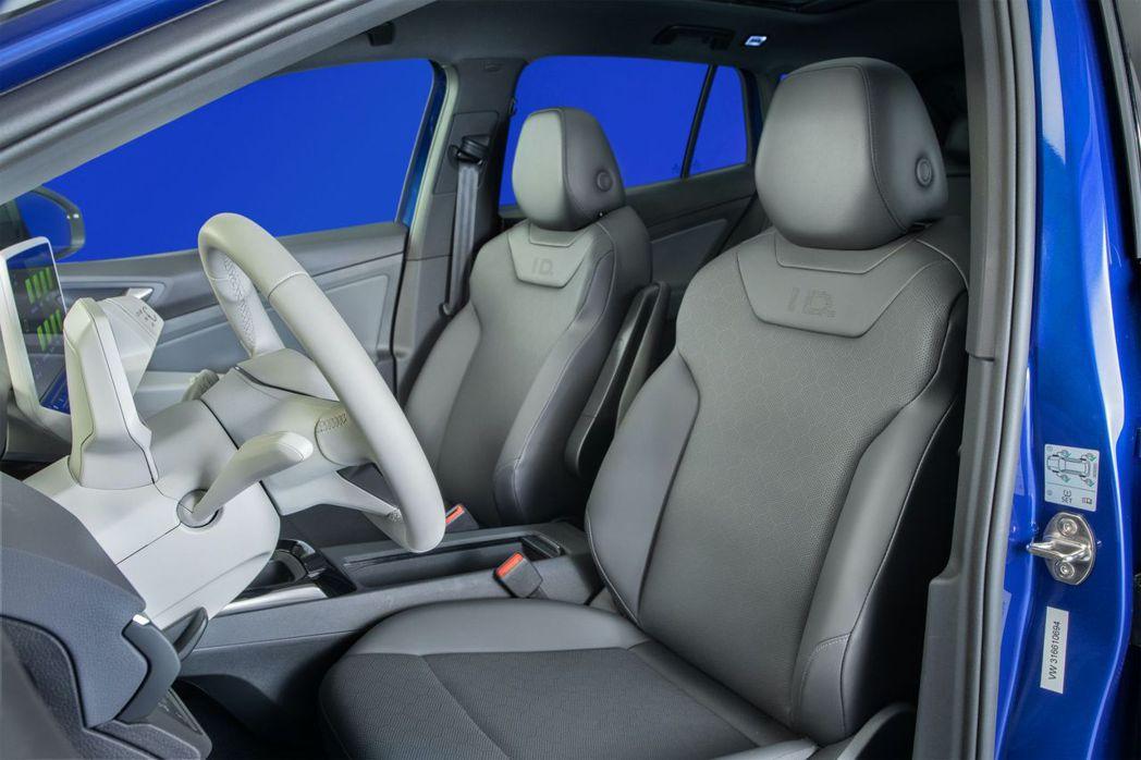 Volkswagen ID.4車內的實體按鈕不多。 摘自Volkswagen